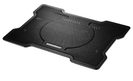 3. Cooler Master NotePal X-Slim Ultra-Slim Laptop Cooling Pad with 160mm Fan (R9-NBC-XSLI-GP)