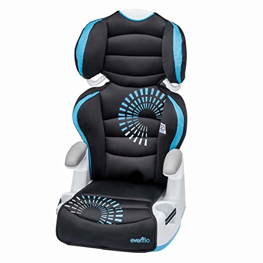 1. Evenflo Big Kid AMP Booster Car Seat, Sprocket