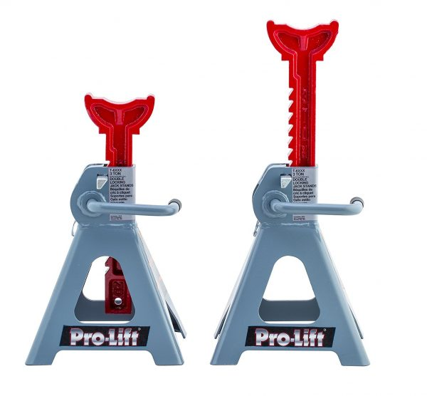 10. Pro-Lift T-6903D Double Pin Jack Stand - 3 Ton, 1 Pack