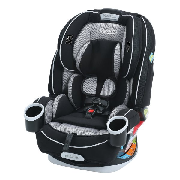 2. Graco 4Ever 4-in-1 Convertible Car Seat, Matrix, One Size