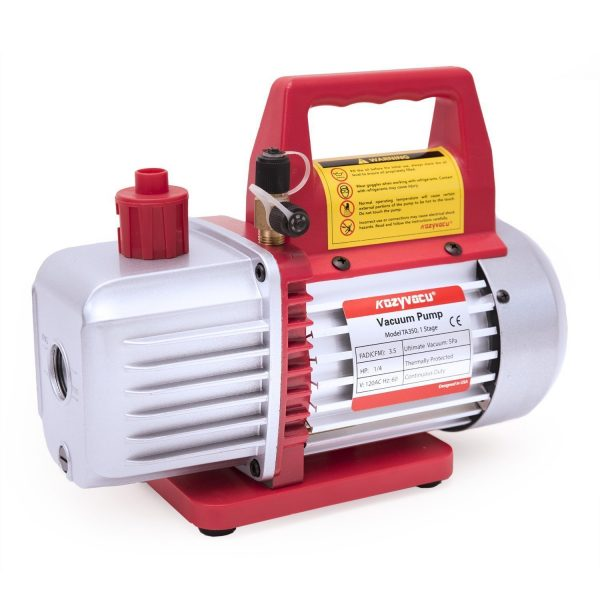 2. Kozyvacu TA350 Single-Stage Rotary Vane Vacuum Pump