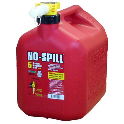 2. No-Spill 1450 5-Gallon Poly Gas Can (CARB Compliant)