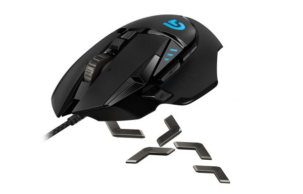 3. Logitech G502 Proteus Spectrum RGB Tunable Gaming Mouse