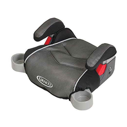 4. Graco Backless TurboBooster Car Seat, Galaxy, One Size
