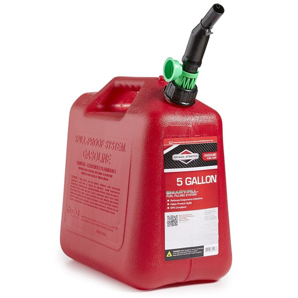 5. Briggs & Stratton 85053 5-Gallon Gas Can Auto Shut-Off