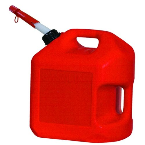 8. Midwest Can 5600-4PK Gas Can - 5 Gallon Capacity, (Pack of 4)