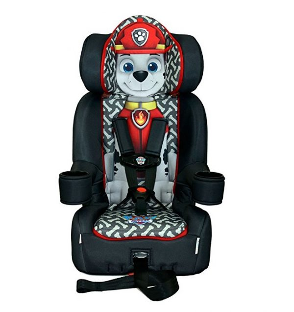 9. KidsEmbrace Nickelodeon Paw Patrol Marshall Combination Harness Booster Car Seat