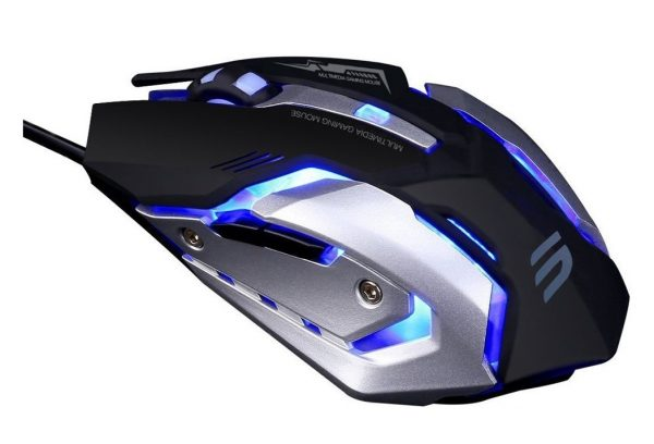 9. LINGYI Gaming mouse, 6 Programmable Buttons, 4 Adjustable DPI Levels