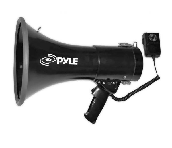 2. Pyle Megaphone Speaker PA Bullhorn with Built-in Siren
