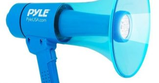 7. Waterproof Megaphone Bullhorn and Flashlight