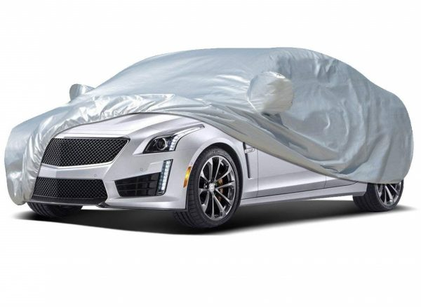 1. Audew Car Cover Sedan Cover Waterproof- Best Car Covers