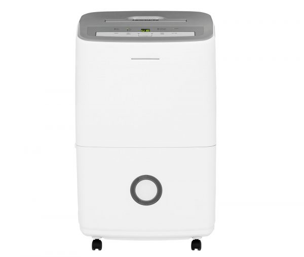 1. Frigidaire 70-Pint Dehumidifier with Effortless Humidity Control, White