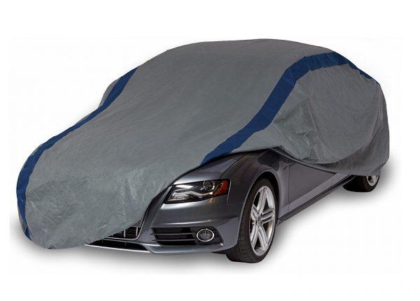 10. Duck Covers Weather Defender Car Cover, Fits Sedans up to 13 ft. 1 in.