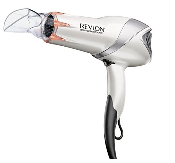 3. Revlon 1875W Infrared Hair Dryer for Faster Drying & Maximum Shine