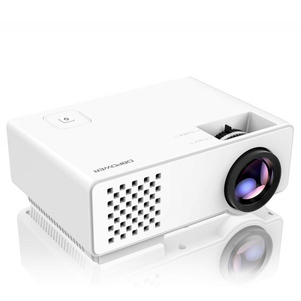 4. Projector, DBPOWER RD-810 Mini LED Video Projector