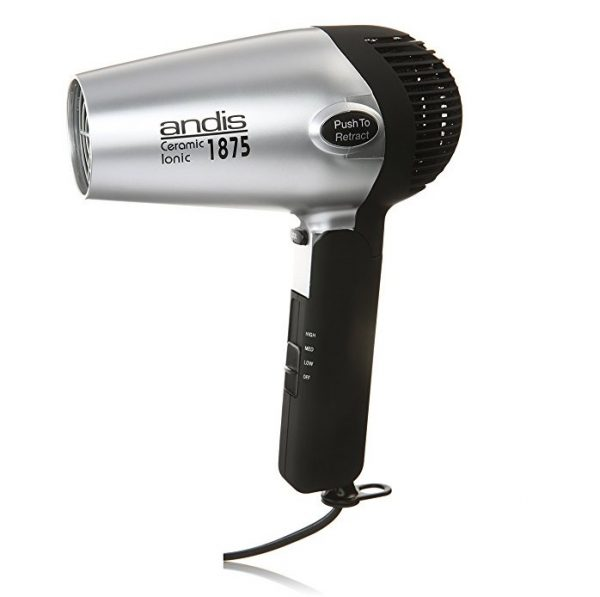 5. Andis 1875-Watt Fold-N-Go Ionic Hair Dryer