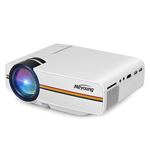 5. Meyoung TC80 LED Mini Projector, Home Theater LCD HD Movie Video Projectors