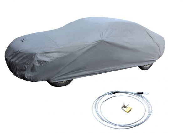 5. XCAR Brand New Breathable Dust Prevention Car Cover-Fits Sedan Hatchback Up To 200 Inch In Length