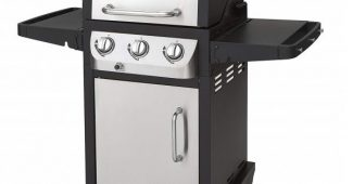 6. Dyna-Glo DGB390SNP-D Smart Space Living 36,000 BTU 3-Burner LP Gas Grill