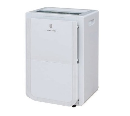 6. Friedrich D50BP 50 Pint Dehumidifier with Built-In Drain Pump, Front Bucket and Continuous Drain