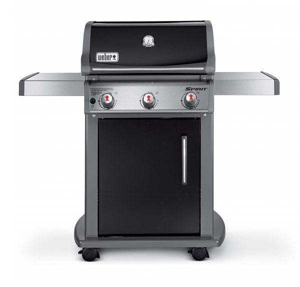 7. Weber 47510001 Spirit E310 Natural Gas Grill, Black