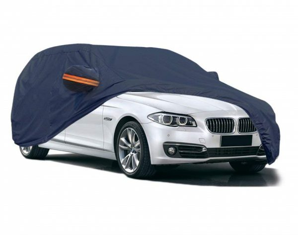 7. YITAMOTOR PEVA Car Cover Breathable Waterproof Universal Fit All Weather Proof Snow