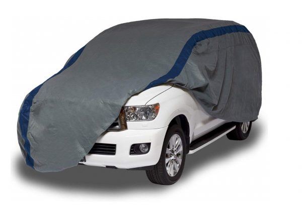 8. Duck Covers Weather Defender, Fits SUVs or Trucks with Shell or Bed Cap up to 17 ft. 5 in.