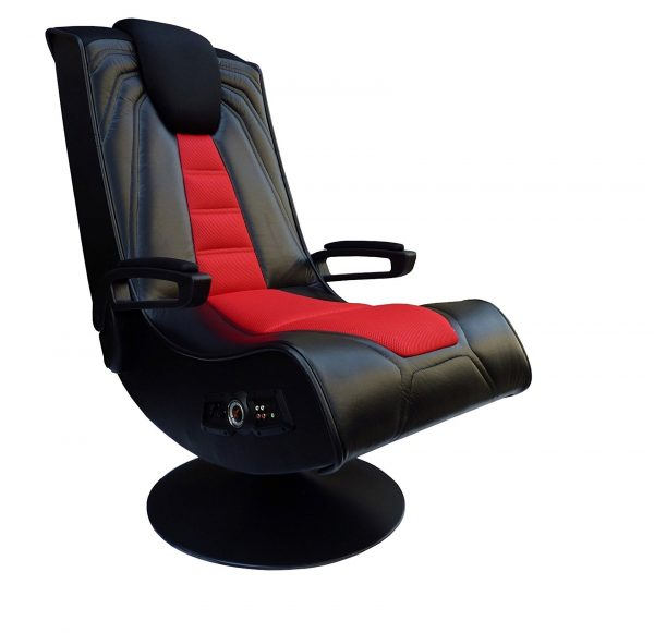 8. X Rocker 51092 Spider 2.1 Gaming Chair Wireless with Vibration