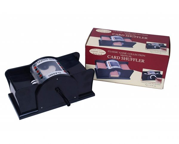 1. Classic Game Collection Manual Card Shuffler(Discontinued by manufacturer)