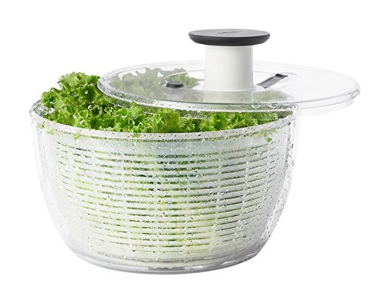 1. OXO Good Grips Salad Spinner- Best Salad Spinners