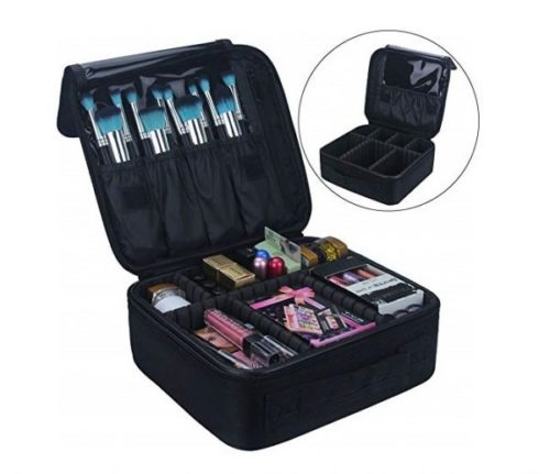 Relavel Best Makeup Train Case Best Professional Makeup Kits, Top Rated Cute Make up Artists Bags