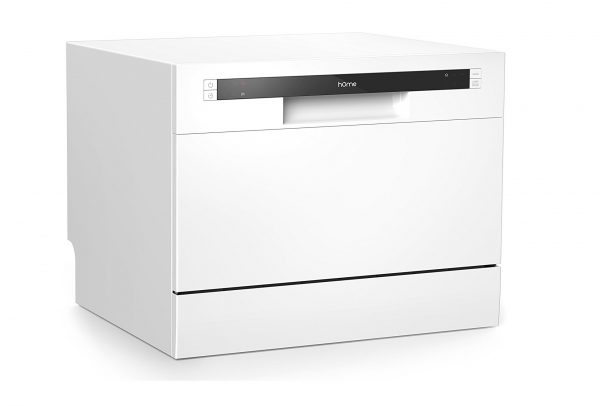 1. hOmeLabs Compact Countertop Dishwasher - Best Portable Dishwashers