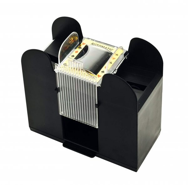 2. Trademark Poker Casino 6-Deck Automatic Card Shuffler