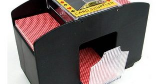 3. Laser Sports Casino Deluxe Automatic 4 Deck Card Shuffler