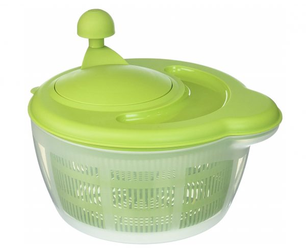3. Westmark German Vegetable and Salad Spinner with Pouring Spout