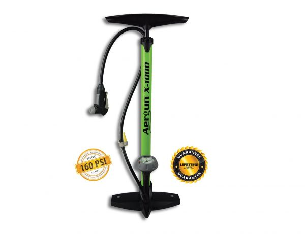 4. AerGun X-1000 Bike Pump