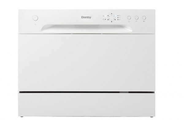 4. Danby DDW621WDB Countertop Dishwasher