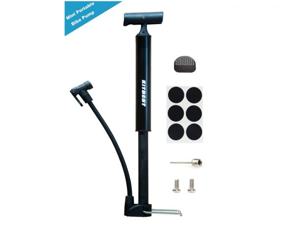 5. ​Kitbest Bike Pump, Aluminum Alloy Portable Bike Floor Pump