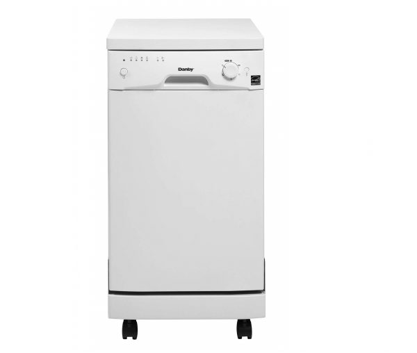 5. Danby DDW1801MWP Portable Dishwasher, White