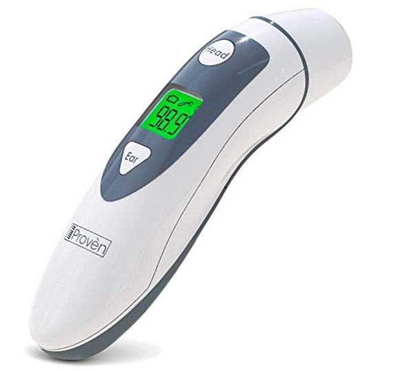 5. Medical Ear Thermometers with Forehead Function - iProven DMT-489 - Upgraded Infrared Lens Technology