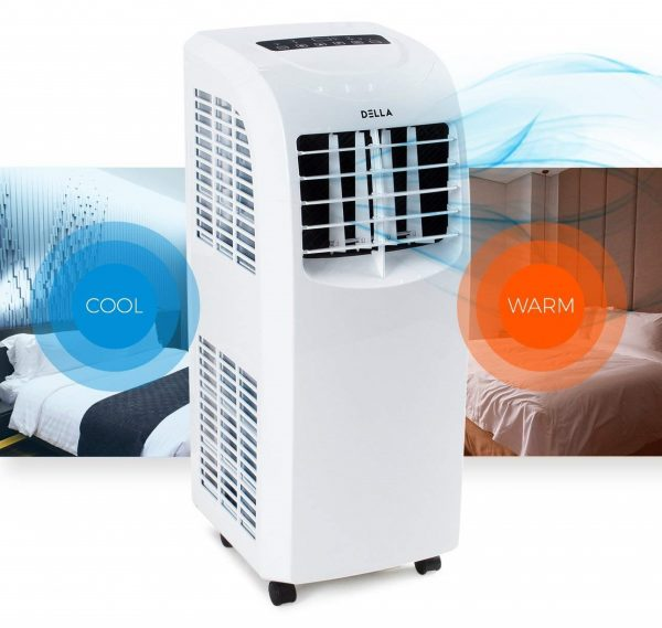 8. DELLA 8,000 BTU Portable Air Conditioner