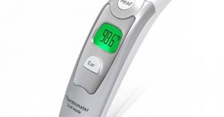 8. Innovo Medical Digital Forehead and Ear Thermometer 2017 Model - Temperature and Fever Health