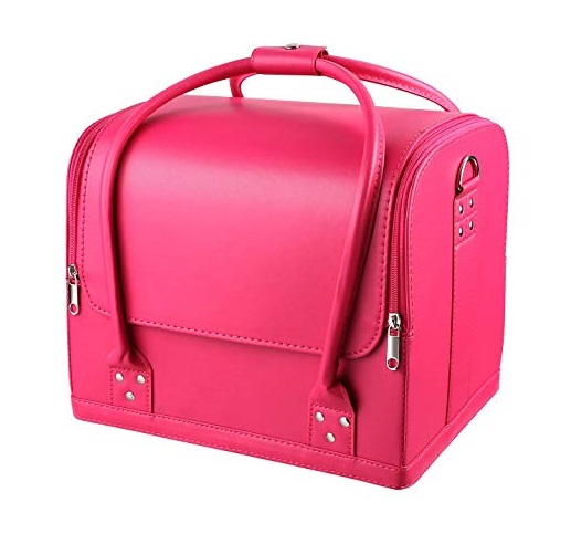 MVPOWER Pink Makeup Case Best Professional Makeup Kits, Make up Artists Bags