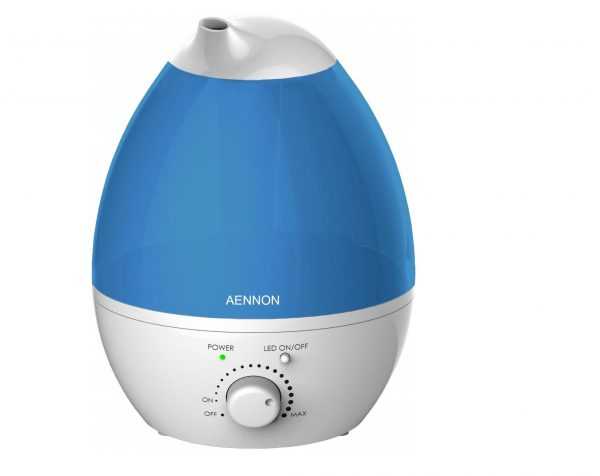 8. Aennon Cool Mist Humidifier, 2.8L Ultrasonic Humidifiers for 20 Hours