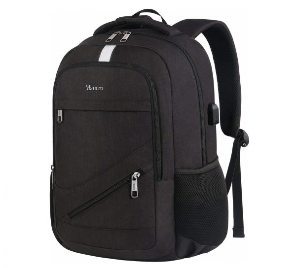 1. High School Backpack, Laptop Backpack RFID College Bag for Women Men