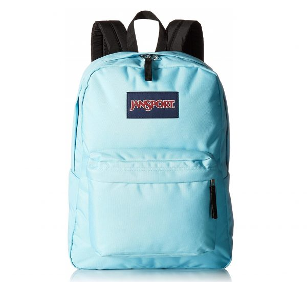 2. JanSport Unisex SuperBreak Blue Topaz Backpack