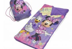 3. Disney Minnie Mouse Slumber Bag Set