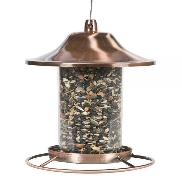 3. Perky-Pet Copper Panorama Bird Feeder 312C