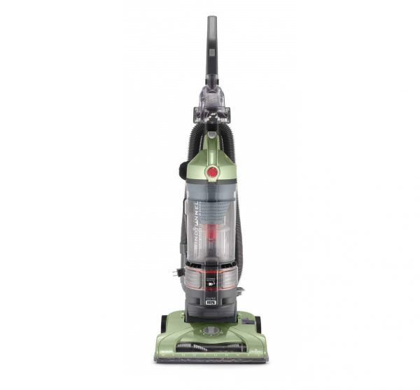 4. Hoover T-Series WindTunnel Rewind Plus Bagless Corded Upright Vacuum UH70120, Green