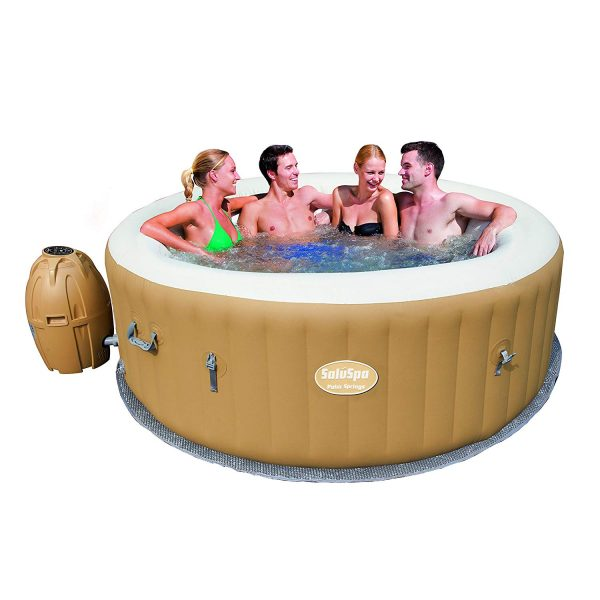 4. SaluSpa Palm Springs AirJet Inflatable 6-Person Hot Tub